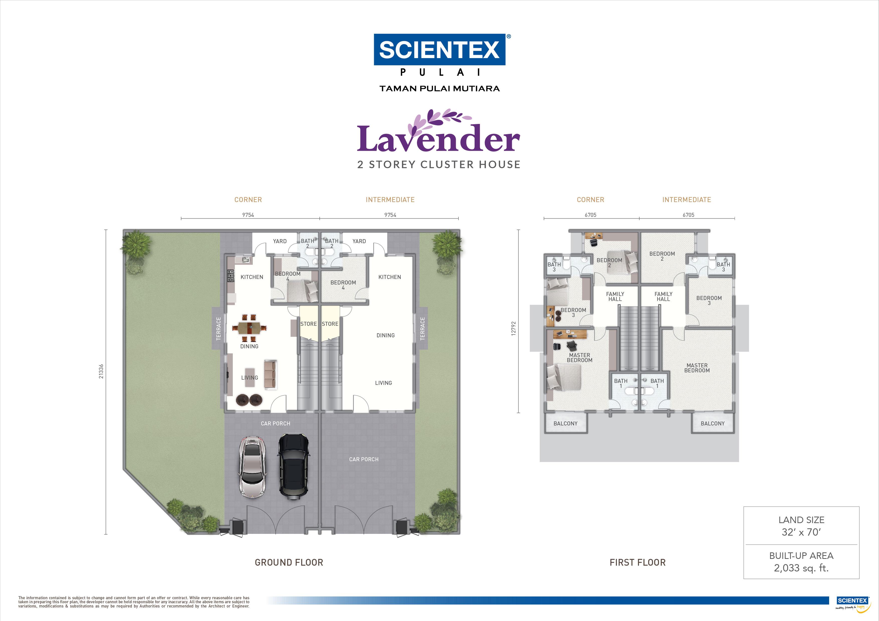 Lavender Scientex